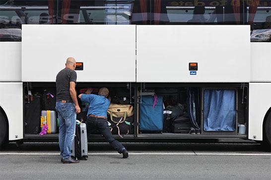 Bagagliaio BUS Ncc Milano